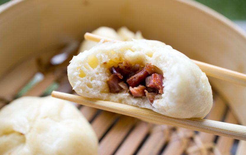 Caa Siu Baau 叉燒包, les Brioches cantonaises au Porc rôti