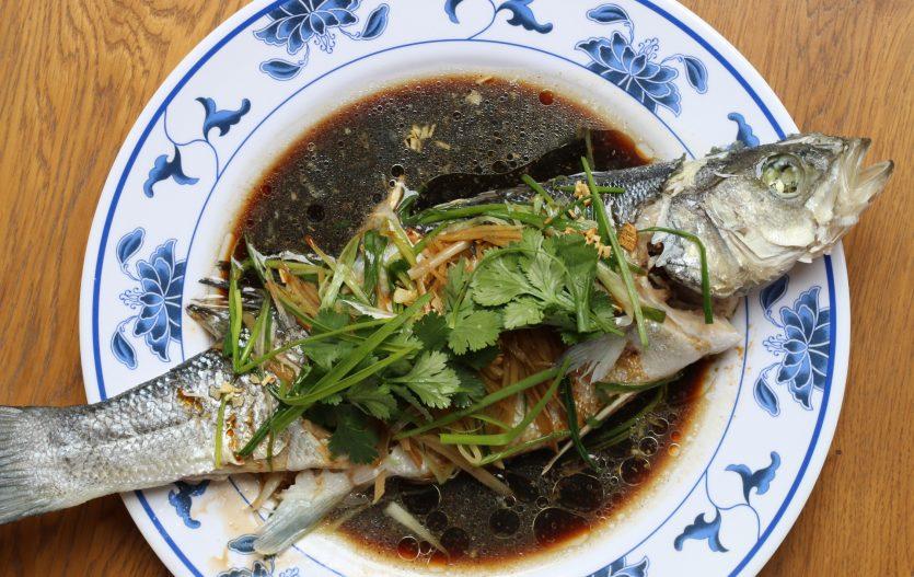Poisson Vapeur à la Cantonaise 粤式蒸鱼