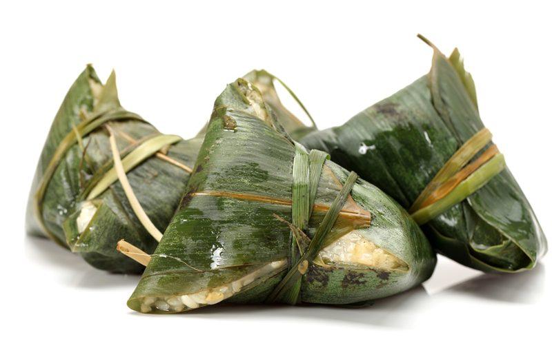 Les Zung Zi 粽子 de la Fête des Bateaux-dragons 端午節