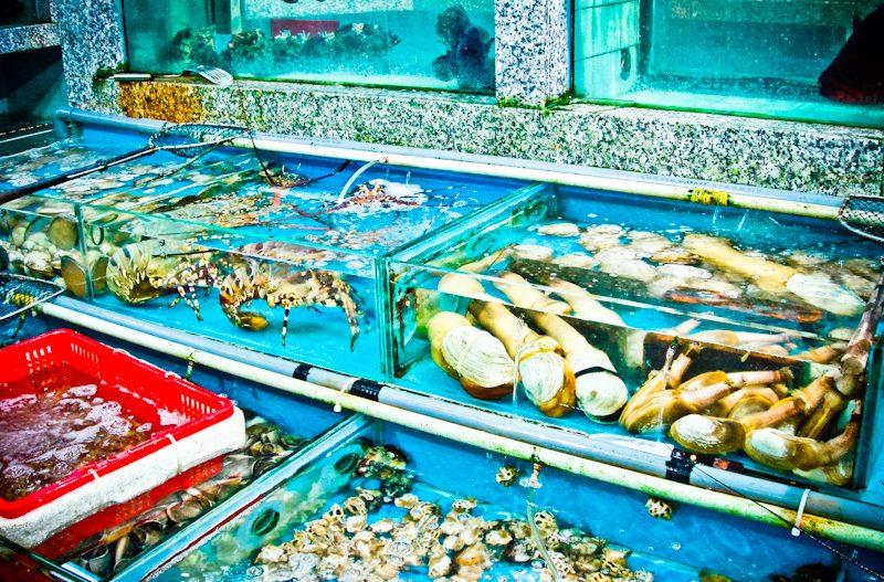Happy Seafood 快樂漁港酒家, Fruits de mer à Lei Yue Mun 鯉魚門