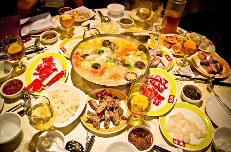 Le Tack Hsin Restaurant 德興酒家 et son Hot Pot à volonté !