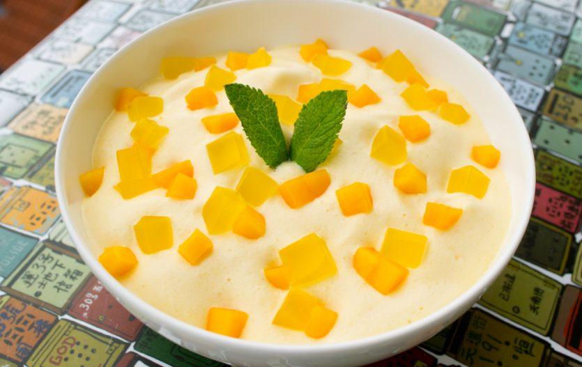 Soupe de Mangue presque comme à Hong Kong