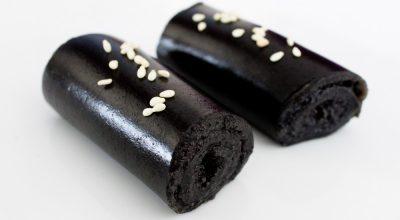 Rouleaux de sésame noir 黑芝麻卷
