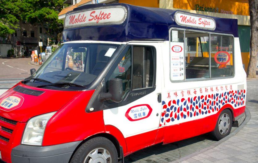 Mobile Softee 雪糕車, le mythique Marchand de Glaces ambulant