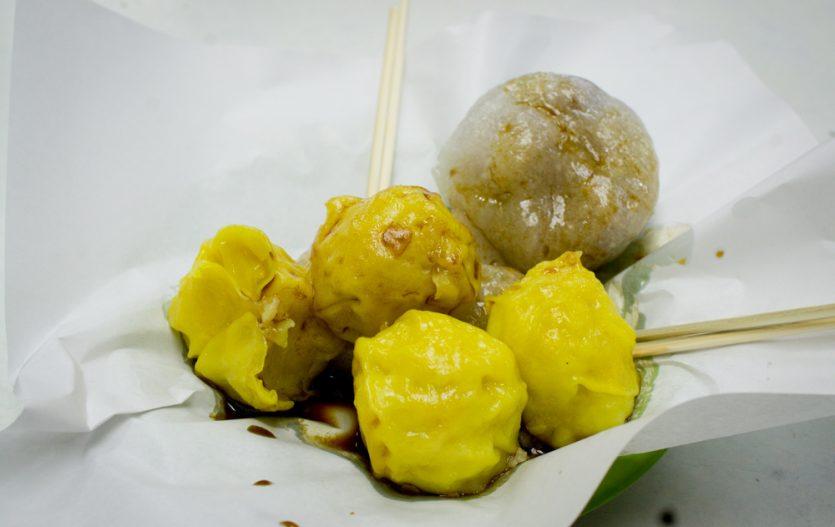Siu Maai de poisson faits maison chez Leoi Zai Gei 呂仔記