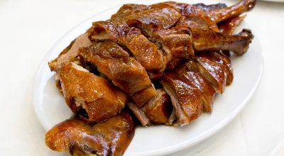 L'Oie rôtie chez Nang Kee Restaurant 能記燒鵝飯店 à Sham Tseng